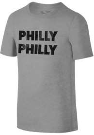 Philadelphia Toddler Grey Philly Philly Short Sleeve T Shirt