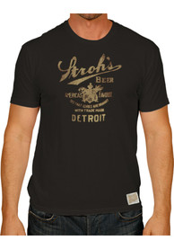 Original Retro Brand Strohs Black Logo Short Sleeve T Shirt