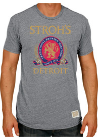 Original Retro Brand Storhs Grey Beer Logo Short Sleeve T Shirt