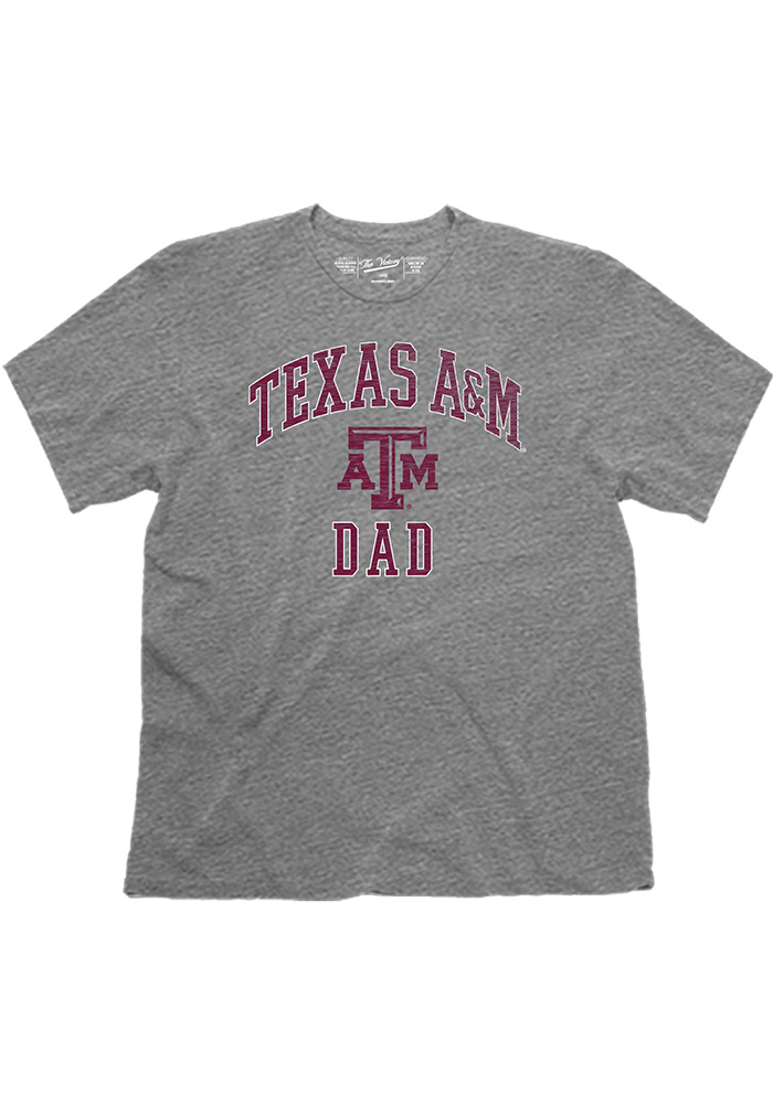 Texas A&M Aggies Grey Dad Tee