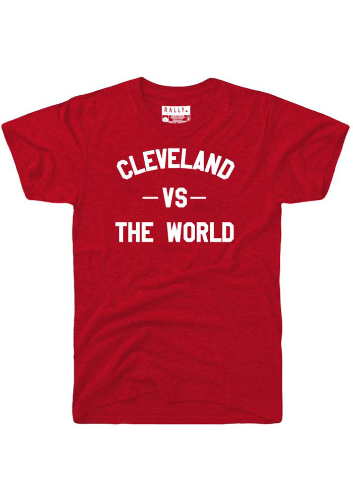 Rally Cleveland Red VS The World Short Sleeve Fashion T Shirt - Image 1