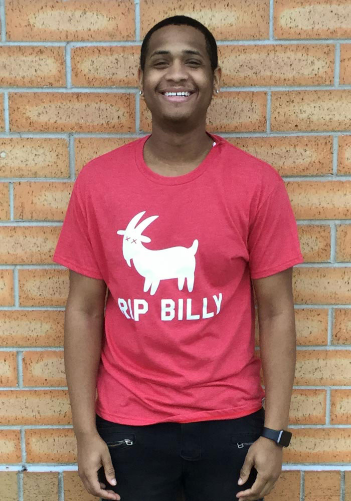 Rally Chicago Red RIP Billy Short Sleeve T Shirt - Image 2