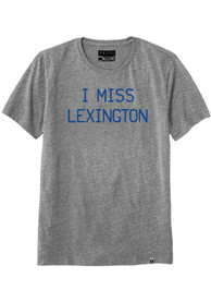 Rally Kentucky Grey I Miss Lexington Short Sleeve T Shirt