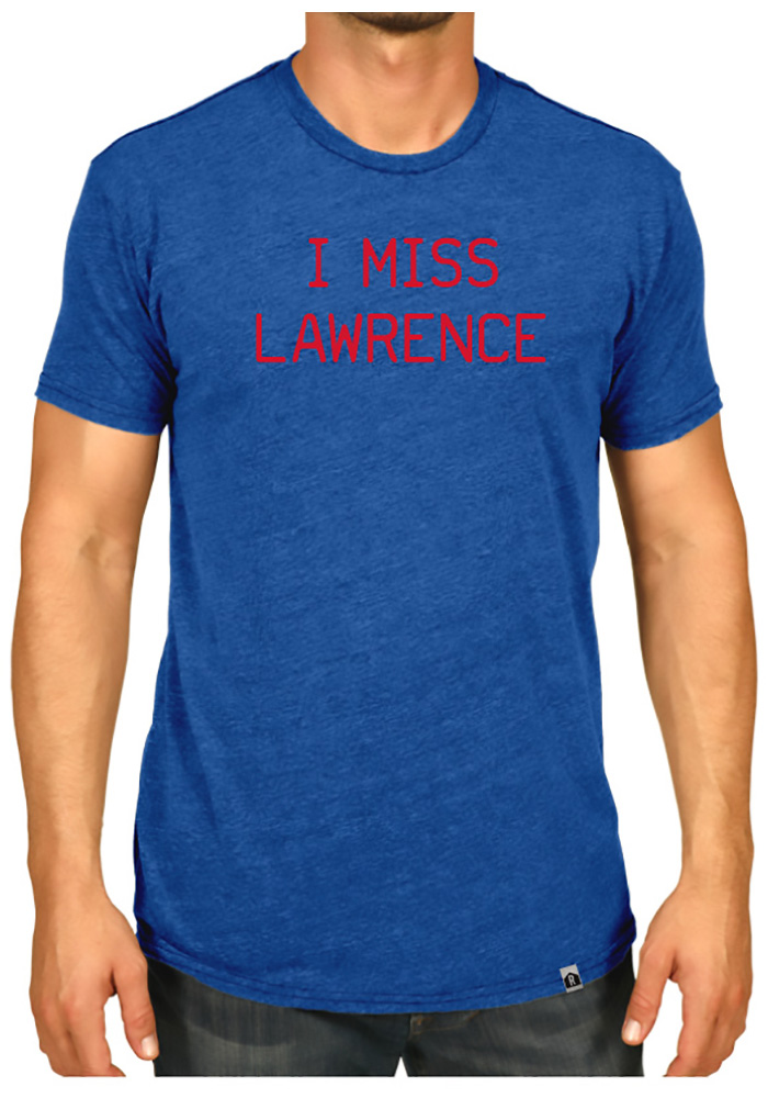 Rally Lawrence Blue I Miss Short Sleeve T Shirt - Image 2
