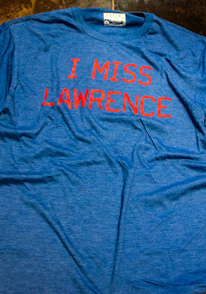 Rally Lawrence Blue I Miss Short Sleeve T Shirt - Image 3