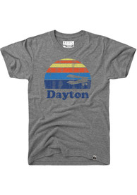 Dayton Grey Sunset Icon Short Sleeve T Shirt