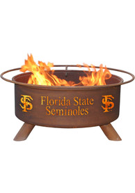 Florida State Seminoles 30x16 Fire Pit