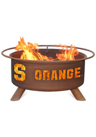 Syracuse Orange 30x16 Fire Pit