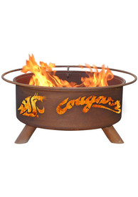 Washington State Cougars 30x16 Fire Pit