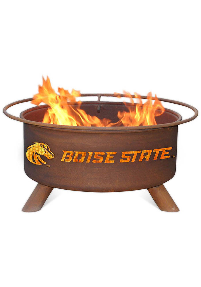 Boise State Broncos 30x16 Fire Pit
