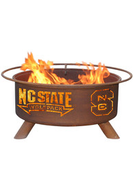 NC State Wolfpack 30x16 Fire Pit