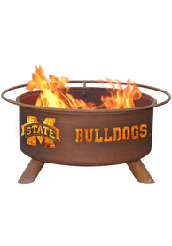 Mississippi State Bulldogs 30x16 Fire Pit