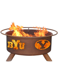 BYU Cougars 30x16 Fire Pit