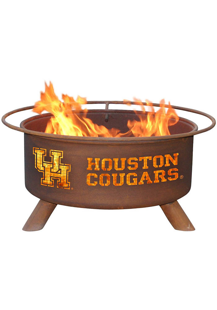 Houston Cougars 30x16 Fire Pit