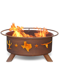Texas Lone Star Fire Pit