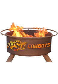 Oklahoma State Cowboys 30x16 Fire Pit