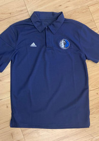 Dallas Mavericks Youth Primary Polo Shirt - Navy Blue