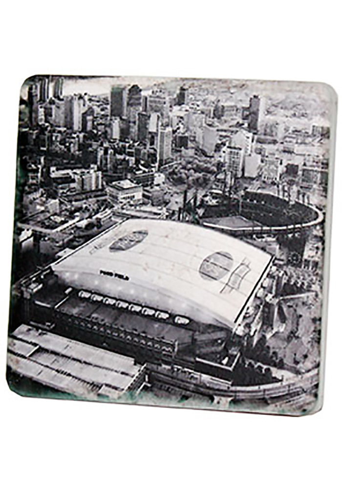 Detroit Ford Field Aerial 4x4 Coaster - Image 1