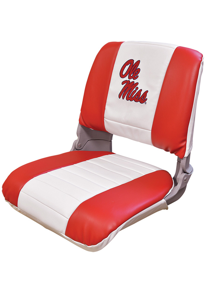 Ole Miss Rebels Pro-Style Fishing Boat Seat - Image 1