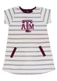 Texas A&M Aggies Toddler Girls Red French Terry Dresses