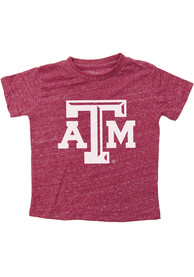 Texas A&M Aggies Toddler Maroon Knobby Primary Logo T-Shirt