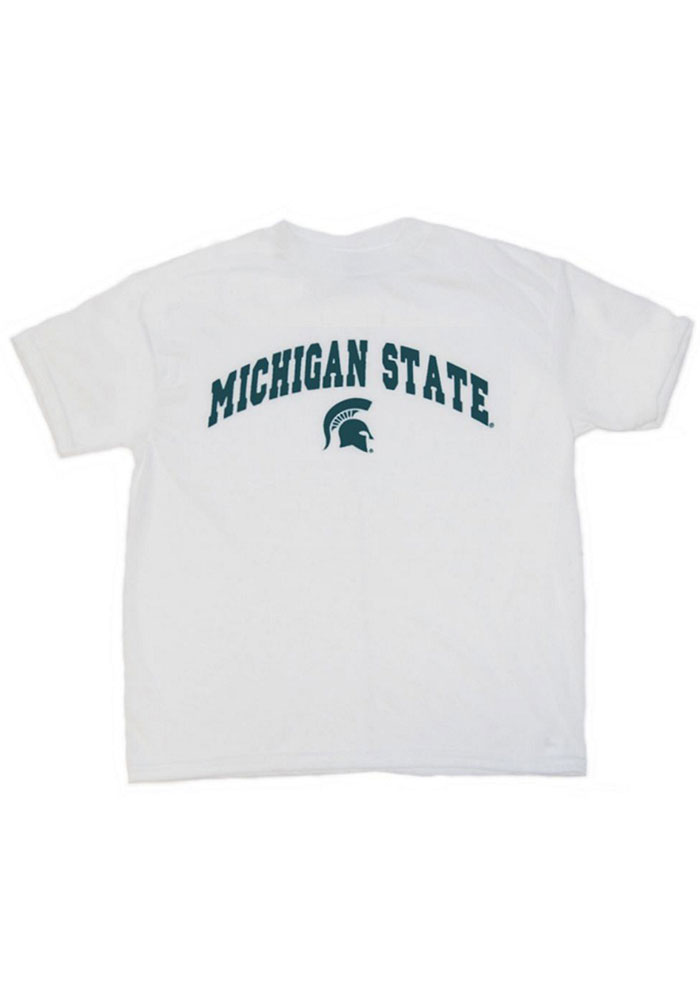Michigan State Spartans Youth Sport T-Shirt - White