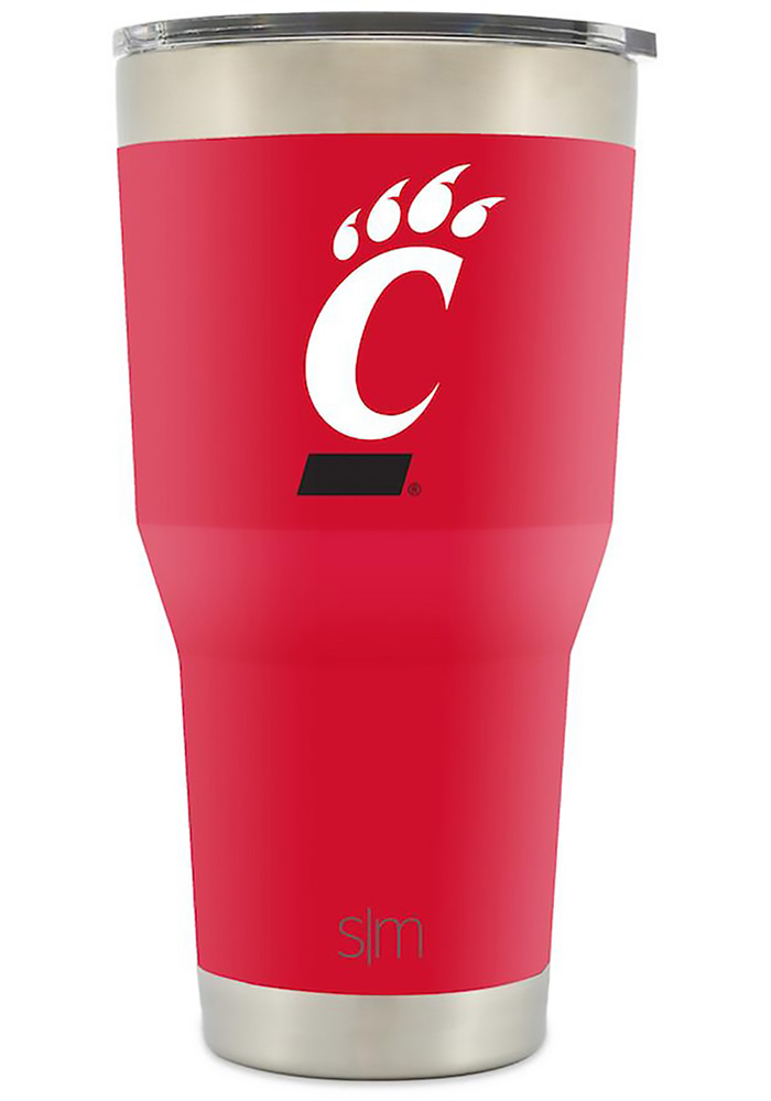 Cincinnati Bearcats 30oz Cruiser Red Stainless Steel Tumbler - Image 1