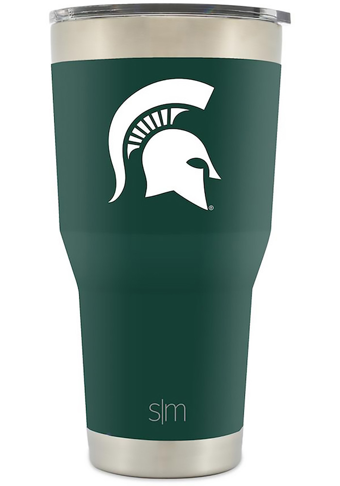 Michigan State Spartans 30oz Cruiser Green Stainless Steel Tumbler - Image 1