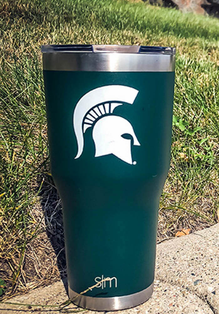 Michigan State Spartans 30oz Cruiser Green Stainless Steel Tumbler - Image 2