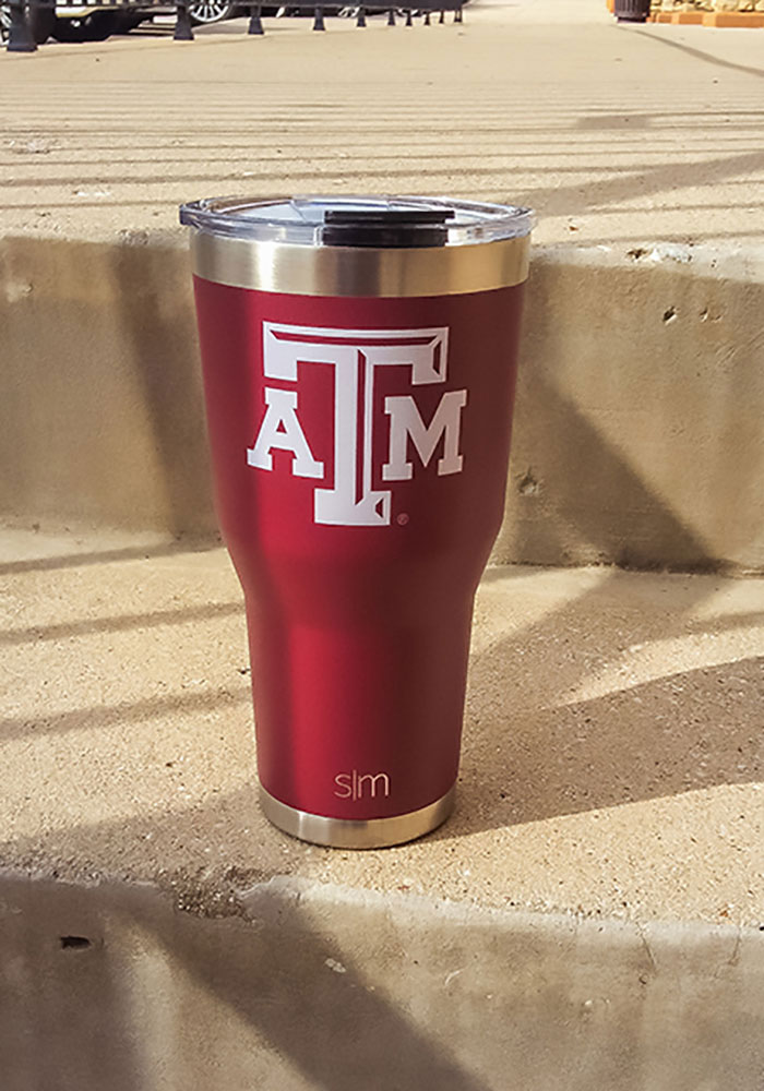 Texas A&M Aggies 30oz Cruiser Stainless Steel Tumbler - Maroon - Image 2