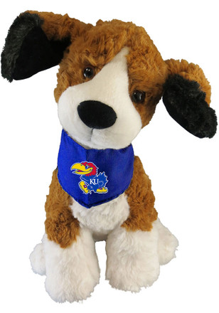 Kansas Jayhawks 9 Inch Beagle Mighty Tyke Plush