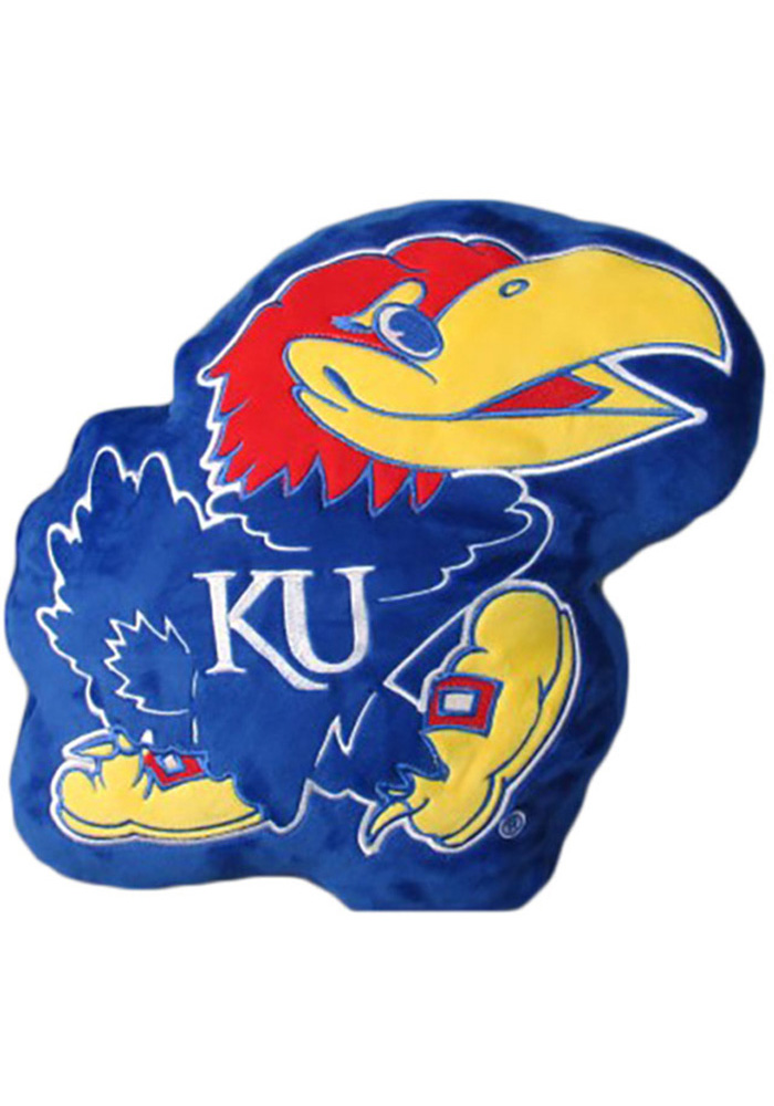 Kansas Jayhawks Team Mascot Pillow - Image 1