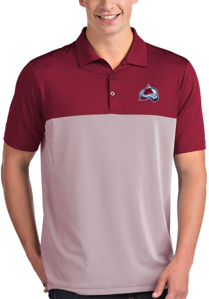 Colorado Avalanche Antigua Venture Polo Shirt - Red