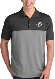 Tampa Bay Lightning Antigua Venture Polo Shirt - Grey