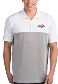 Washington Capitals Antigua Venture Polo Shirt - White