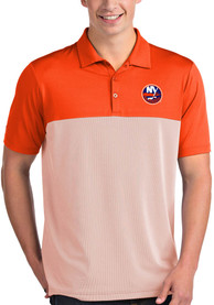 New York Islanders Antigua Venture Polo Shirt - Orange