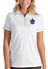 Antigua Toronto Maple Leafs Womens White Salute Polo