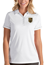Antigua Vegas Golden Knights Womens White Salute Polo