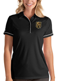 Antigua Vegas Golden Knights Womens Black Salute Polo