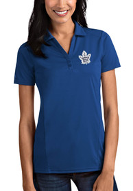 Antigua Toronto Maple Leafs Womens Blue Tribute Polo