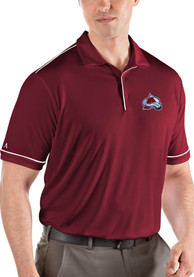 the latest b1ce2 cf935 Colorado Avalanche Red Salute Short Sleeve Polo Shirt