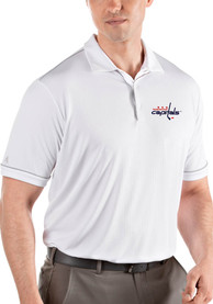 Washington Capitals Antigua Salute Polo Shirt - White