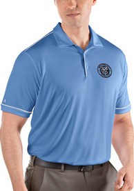 New York City FC Antigua Salute Polo Shirt - Blue