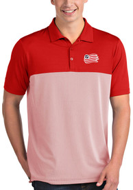 New England Revolution Antigua Venture Polo Shirt - Red