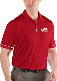 New England Revolution Antigua Salute Polo Shirt - Red