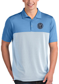New York City FC Antigua Venture Polo Shirt - Blue
