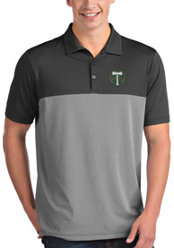 Portland Timbers Antigua Venture Polo Shirt - Grey