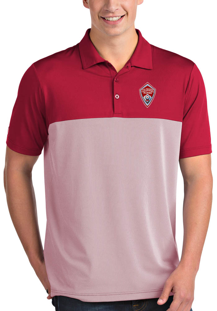 Colorado Rapids Antigua Venture Polo Shirt - Red