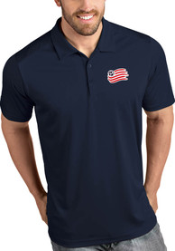 New England Revolution Antigua Tribute Polo Shirt - Navy Blue