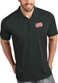 New England Revolution Antigua Tribute Polo Shirt - Grey